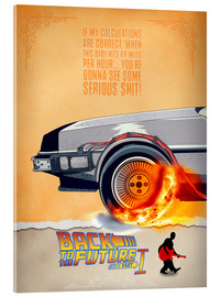Vetro acrilico  Back to the Future - Minimal Movie - Part 1 of 3 Alternative - HDMI2K