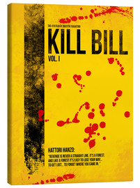 Stampa su tela  Kill Bill - Tarantino Minimal Film Movie Alternative - HDMI2K