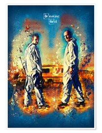 Poster Premium  Breaking Bad - Walter White Series Show Alternative - HDMI2K