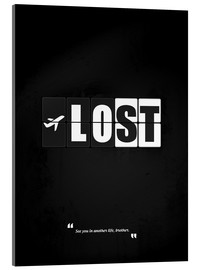 Vetro acrilico  Lost - Minimal TV series Alternative - HDMI2K