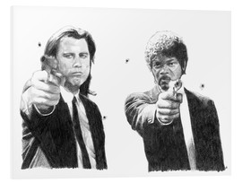 Stampa su schiuma dura  PULP FICTION - Cultscenes