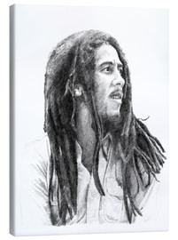 Tela  BOB MARLEY alternative fan art - Cultscenes