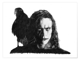 Poster THE CROW alternative movie art