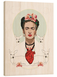 Legno  Frida Kahlo (Light) - Anna McKay