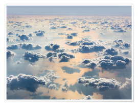Poster Premium  Sky above the clouds