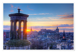 Poster  Scotland Edinburgh - Calton Hill