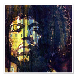 Poster Premium  Hendrix - Paul Lovering