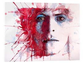 Vetro acrilico  The Prettiest Star : David Bowie - Paul Paul Lovering Arts
