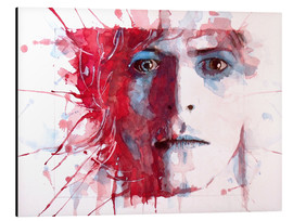 Stampa su alluminio  La star più bella: David Bowie - Paul Lovering Arts