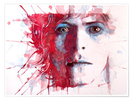 Poster Premium  La star più bella: David Bowie - Paul Lovering