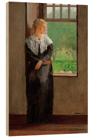 Stampa su legno  An Open Window - Winslow Homer