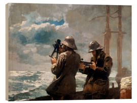 Stampa su legno  Eight Bells - Winslow Homer