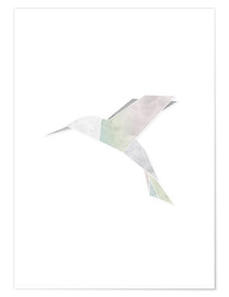 Poster Premium  Origami hummingbird - Amy and Kurt Berlin