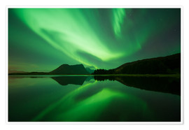 Poster Premium  Norway light - Vincent Xeridat
