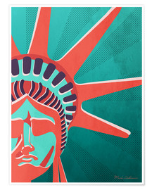 Poster Premium  new york - Mark Ashkenazi