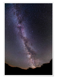 Poster Premium  The summer Milky Way in southern Alberta, Canada. - Alan Dyer