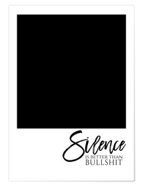 Poster SILENCE