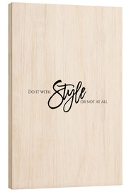 Legno  DO IT WITH STYLE - Stephanie Wünsche