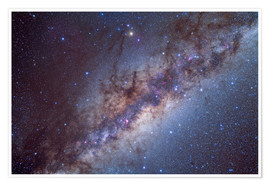 Poster Premium  The center of the Milky Way through Sagittarius and Scorpius. - Alan Dyer