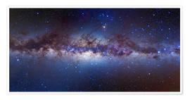 Poster  Milky Way, center - Alan Dyer