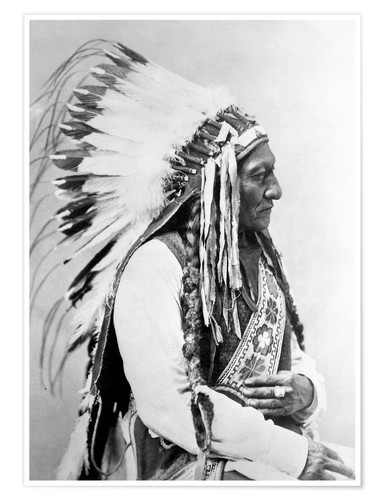 Poster Sioux Chief Sitting Bull