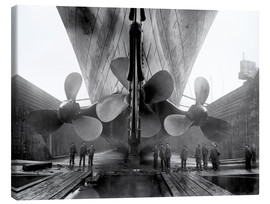 Tela  Shipyard workers with the Titanic - John Parrot