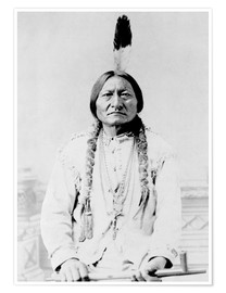 Poster  Chief Sitting Bull