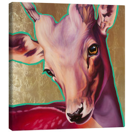 Tela  deer gold - Renate Berghaus