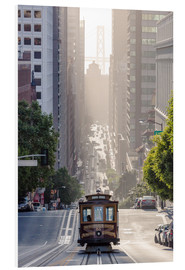 Stampa su schiuma dura  Cable Car di San Francisco - Matteo Colombo