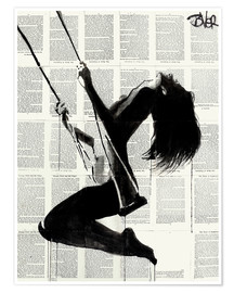 Poster  the lightness of being again2 - Loui Jover