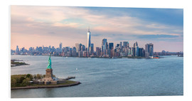 Forex  New York skyline with Statue of Liberty - Matteo Colombo