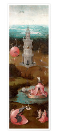 Poster Premium The Last Judgement, the earthly paradise