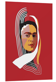 Forex  Frida Kahlo Abstract - Anna McKay