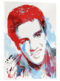 Vetro acrilico  alternative elvis presley pop art print - 2ToastDesign