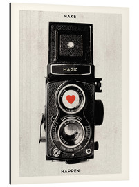 Alluminio Dibond  Vintage retro camera photographic art print - Nory Glory Prints