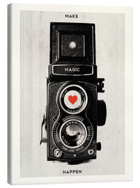 Tela  Vintage retro camera photographic art print - Nory Glory Prints