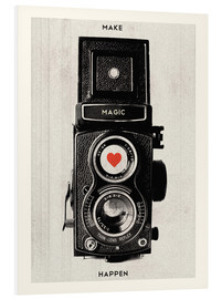 Stampa su schiuma dura  Vintage retro camera photographic art print - Nory Glory Prints