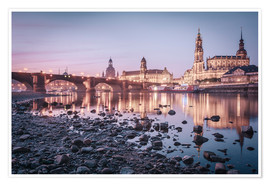 Poster  Dresden old town sunrise - Philipp Dase