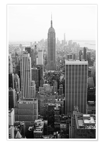 Poster Skyscrapers in New York City, USA