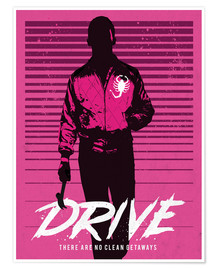 Poster Premium  Drive - Golden Planet Prints