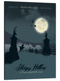 Stampa su alluminio  Sleepy Hollow - Golden Planet Prints