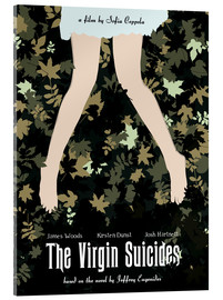 Stampa su vetro acrilico  The virgin suicides (inglese) - Golden Planet Prints