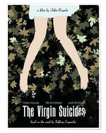 Poster The virgin suicides movie inspired art print