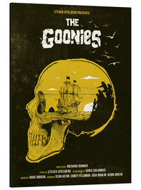 Stampa su alluminio  The Goonies - Golden Planet Prints