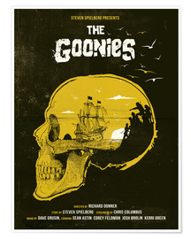 Poster Premium  The Goonies - Golden Planet Prints