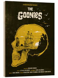 Stampa su legno  The Goonies - Golden Planet Prints