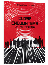 Stampa su schiuma dura  Close encounters of the third kind - Golden Planet Prints