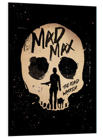 Stampa su schiuma dura  Mad Max 2 - The road warrior - Golden Planet Prints