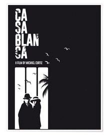 Poster Premium  Casablanca - Golden Planet Prints