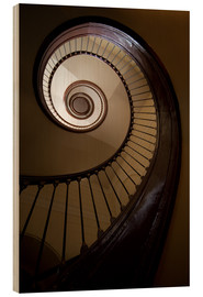 Legno  Wooden and steel spiral staircase - Jaroslaw Blaminsky
